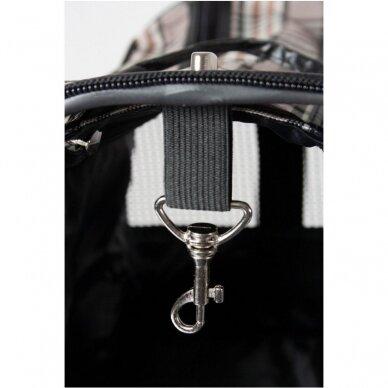Angliško stiliaus kelionis krepšys Flamingo Pet Products Karlie 5