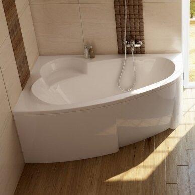 Apdailos plokštė voniai Ravak Asymmetric su tvirtinimais 2