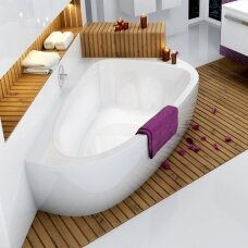 Asimetrinė akrilinė vonia Ravak LoveStory II