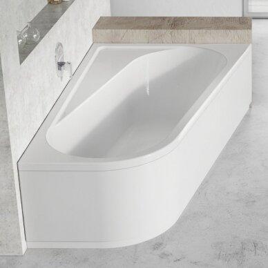 Asimetrinė vonia Ravak Chrome 160, 170 cm 2