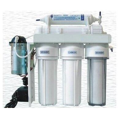 Atbulinės osmozės vandens filtrų sistema RO6 6 pakopų