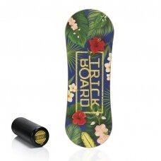Balansinė lenta Trickboard Classic Tropical su juodu volu
