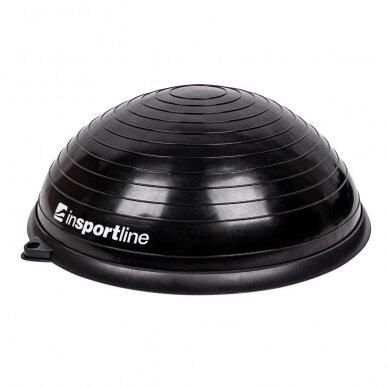 Balansinė pusiausvyros platforma su gumomis inSPORTline Dome UNI Black 60x22cm 4