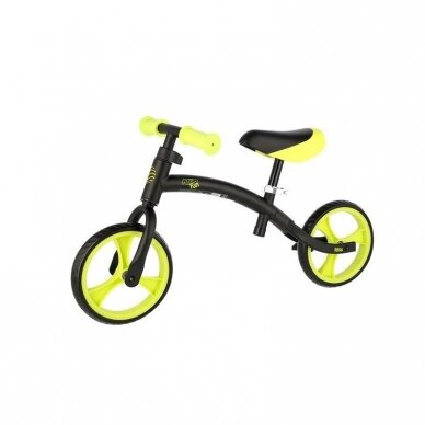 Balansinis dviratis Nils Fun RB06 juodas-žalias