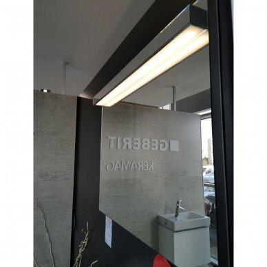 Baldų komplektas Keramag ICON: praustuvas su spintele, veidrodis, aukšta spintelė 4