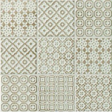 Keraminės plytelės Bayker Batik 10x10 cm 8