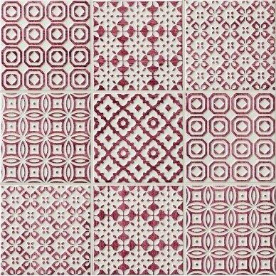 Keraminės plytelės Bayker Batik 10x10 cm 5