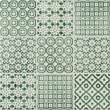 Keraminės plytelės Bayker Batik 10x10 cm 4