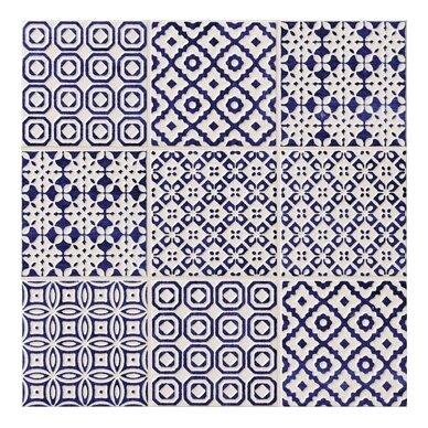 Keraminės plytelės Bayker Batik 10x10 cm 3