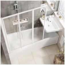 Kai vonioje pristinga vietos...