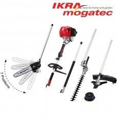 Benzininis universalus Ikra Mogatec sodo priežiūros prietaisas IBKH 33, 4in1
