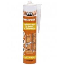 Bespalvis silikonas Gebsicone ,310ml (893403)
