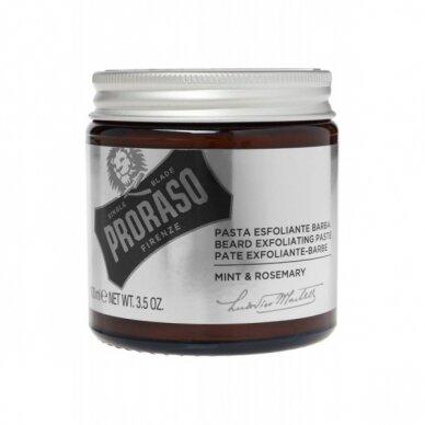 Barzdos šveitiklis Proraso mėtų ir rozmarinų 100 ml