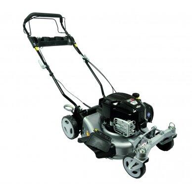 Benzininė savaeigė vejapjovė 2,06 kW Grizzly BRM 46-140 BSA InStart Q-360° 3