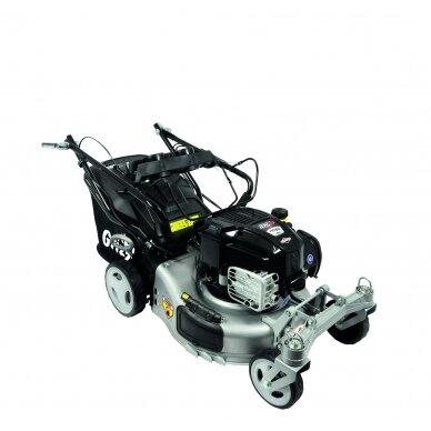 Benzininė savaeigė vejapjovė 2,06 kW Grizzly BRM 46-140 BSA InStart Q-360° 4