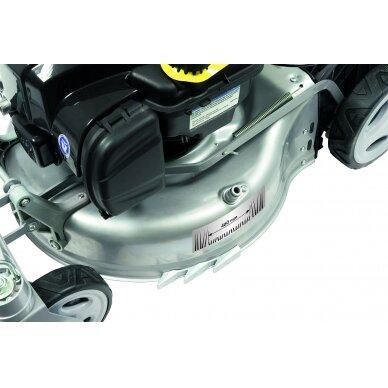 Benzininė savaeigė vejapjovė 2,06 kW Grizzly BRM 46-140 BSA InStart Q-360° 5