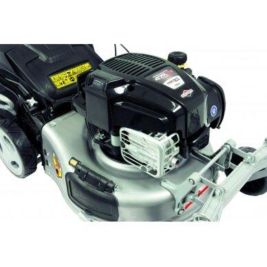 Benzininė savaeigė vejapjovė 2,06 kW Grizzly BRM 46-140 BSA InStart Q-360° 7