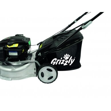 Benzininė savaeigė vejapjovė 2,06 kW Grizzly BRM 46-140 BSA InStart Q-360° 8