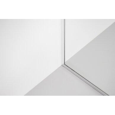 Dušo sienelė Brasta Glass Dija 80, 90, 100, 110, 120, 130, 140 cm 4