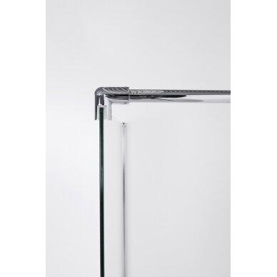 Dušo sienelė Brasta Glass Ema 80, 90, 100, 110, 120, 130, 140 cm 3