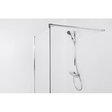 Dušo sienelė Brasta Glass Ema 80, 90, 100, 110, 120, 130, 140 cm 2
