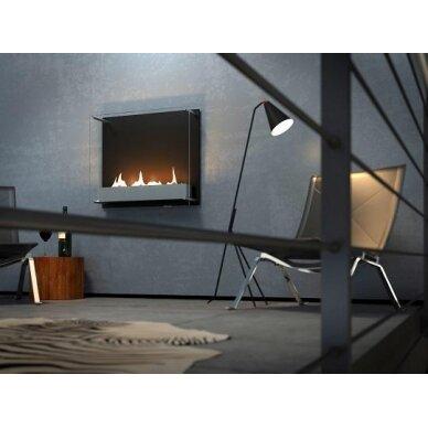 Bio židinys Ebios-fire Cambridge 600, juodas, 38 m2, 3,8 kW 3