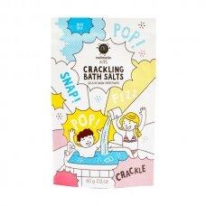Spragsinti vonios druska Blue Crackling Bath Salts 60g