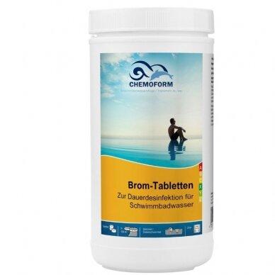 Bromo tabletės Chemoform AG po 20 g, 1 kg 2
