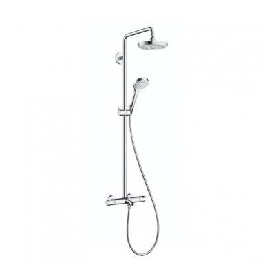 Dušo vonios sistema su termostatu Hansgrohe Croma Select S180 2jet