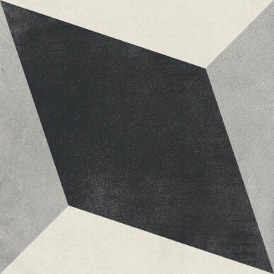 Akmens masės plytelės CUBAN BLOCK 22,3x22,3 cm 3