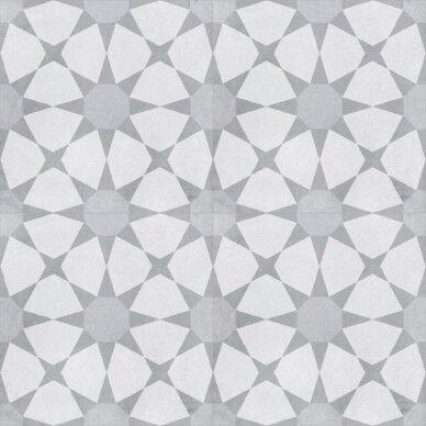 CUBAN SILVER STAR akmens masės plytelės 22,3x22,3 cm 2