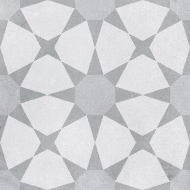 Akmens masės plytelės CUBAN SILVER STAR 22,3x22,3 cm 3