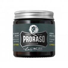 Kremas prieš skutimąsi Proraso Cypress & Vetyver 100 ml