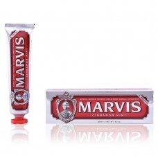 Dantų pasta Marvis Cinnamon Mint Cinamono ir mėtų skonio