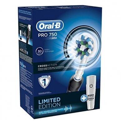 Dantų šepetėlis Oral-B PRO 750 4