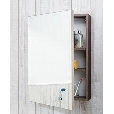 Veidrodinė spintelė Deep by Jika 50cm, balta