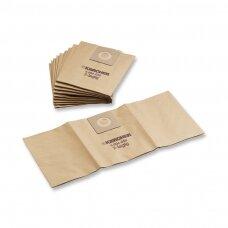 Popieriniai filtrai maišeliai 5 vnt. Kärcher - NT