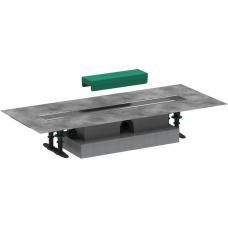 Dušo latakas su sifonu Hansgrohe uBox 60 cm