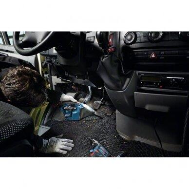 Dulkių siurblys Bosch GAS 12 V  Professional, 2x2,5Ah 5