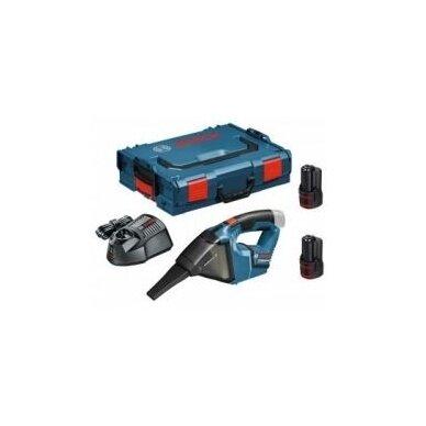 Dulkių siurblys Bosch GAS 12 V  Professional, 2x2,5Ah