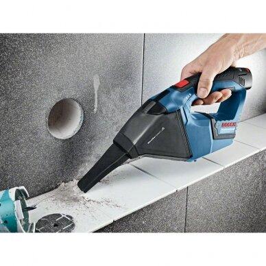 Dulkių siurblys Bosch GAS 12 V solo Professional + L-Boxx 6
