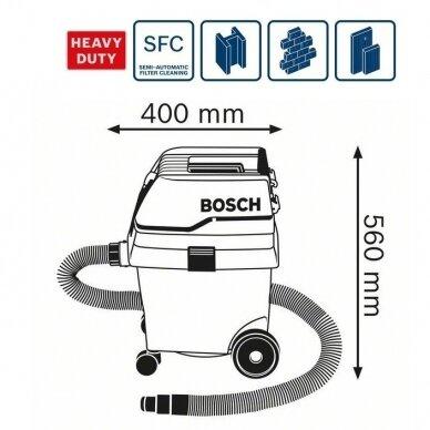 Dulkių siurblys Bosch GAS 25 L SFC Professional 2