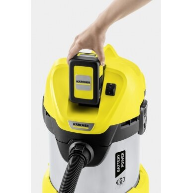 Dulkių siurblys WD 3 Battery Premium *INT Kärcher 2