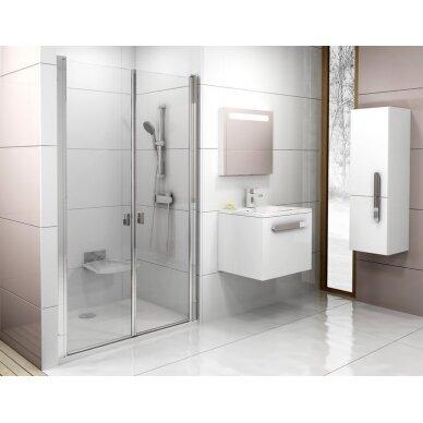 Dušo durys Ravak Chrome CSDL2 90, 100, 110, 120 cm 2