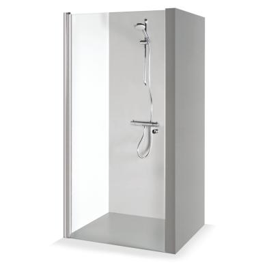 Dušo durys nišoms Brasta Glass Greta 70, 80, 90 cm