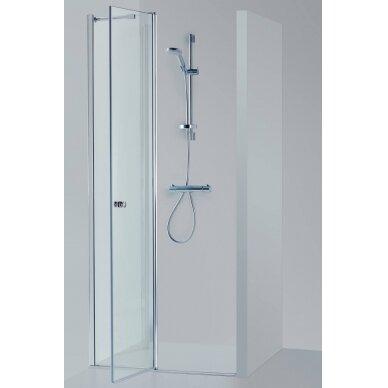 Dušo durys nišoms Brasta Glass Greta Plius 80, 90, 100, 110, 120 cm 3