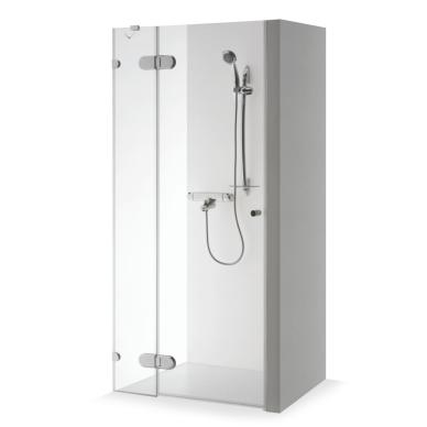 Dušo durys nišoms Brasta Glass Ieva plius 80, 90, 100, 110, 120 cm
