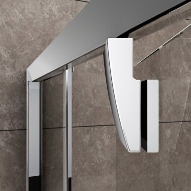 Dušo durys Ravak Pivot PDOP2 100, 110, 120 cm 3