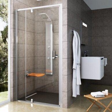 Dušo durys Ravak Pivot PDOP2 100, 110, 120 cm