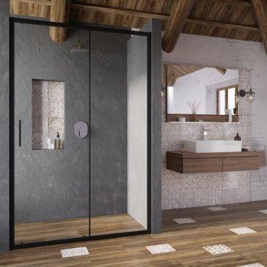 Dušo durys Ravak Blix Slim BLSDP2 100, 110, 120 cm 3